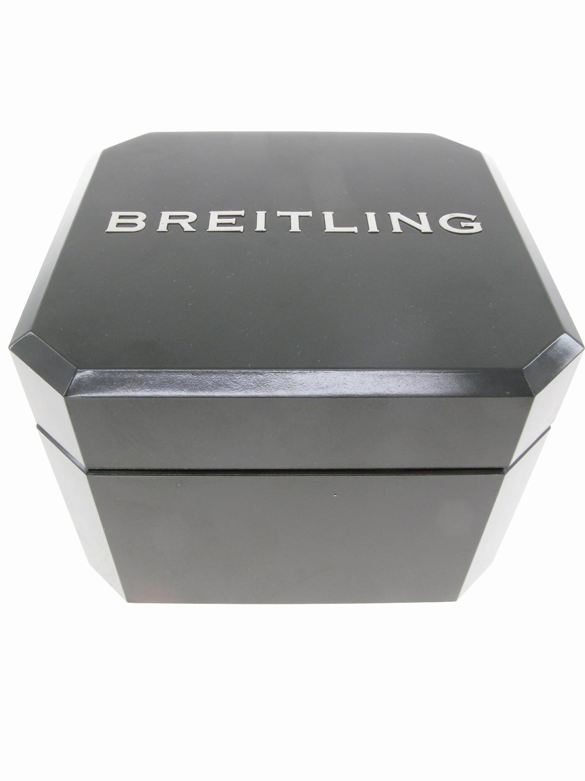 breitling bakelit box inkl schachtel beizettel ebay. Black Bedroom Furniture Sets. Home Design Ideas