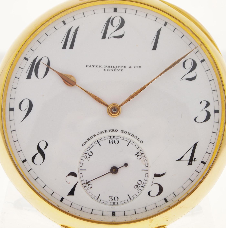 patek philippe gondolo chronometer taschenuhr 18ct gold. Black Bedroom Furniture Sets. Home Design Ideas