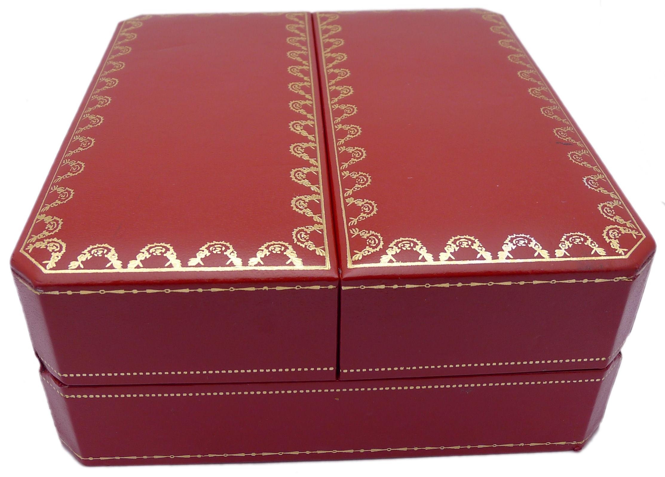cartier box f r armbanduhren aus den 90er jahren f r. Black Bedroom Furniture Sets. Home Design Ideas