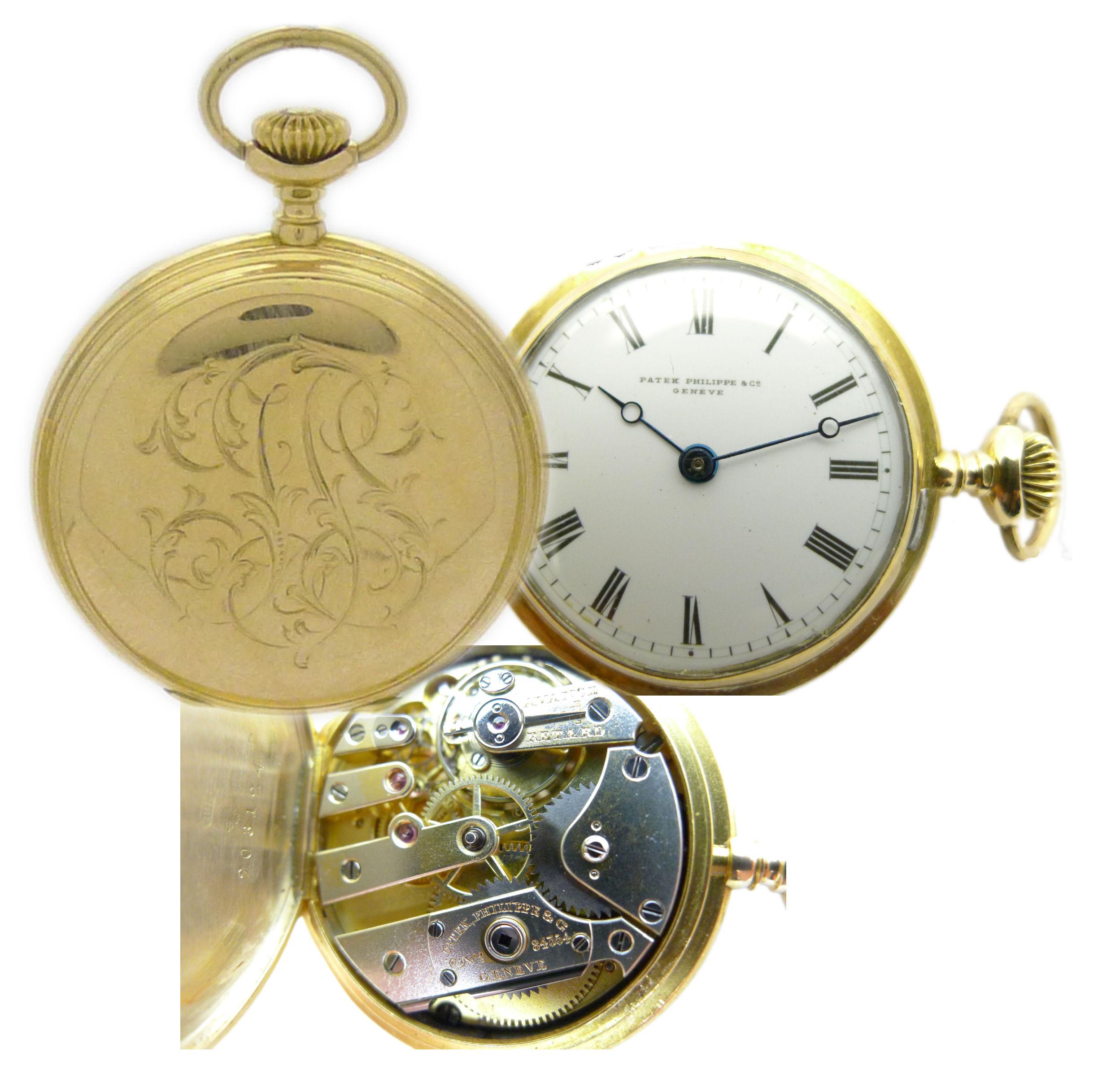 Patek philippe geneve ohne sekunde taschenuhr 18kt gold ca 33 5 mm von ca 1893 ebay for Patek philippe geneve