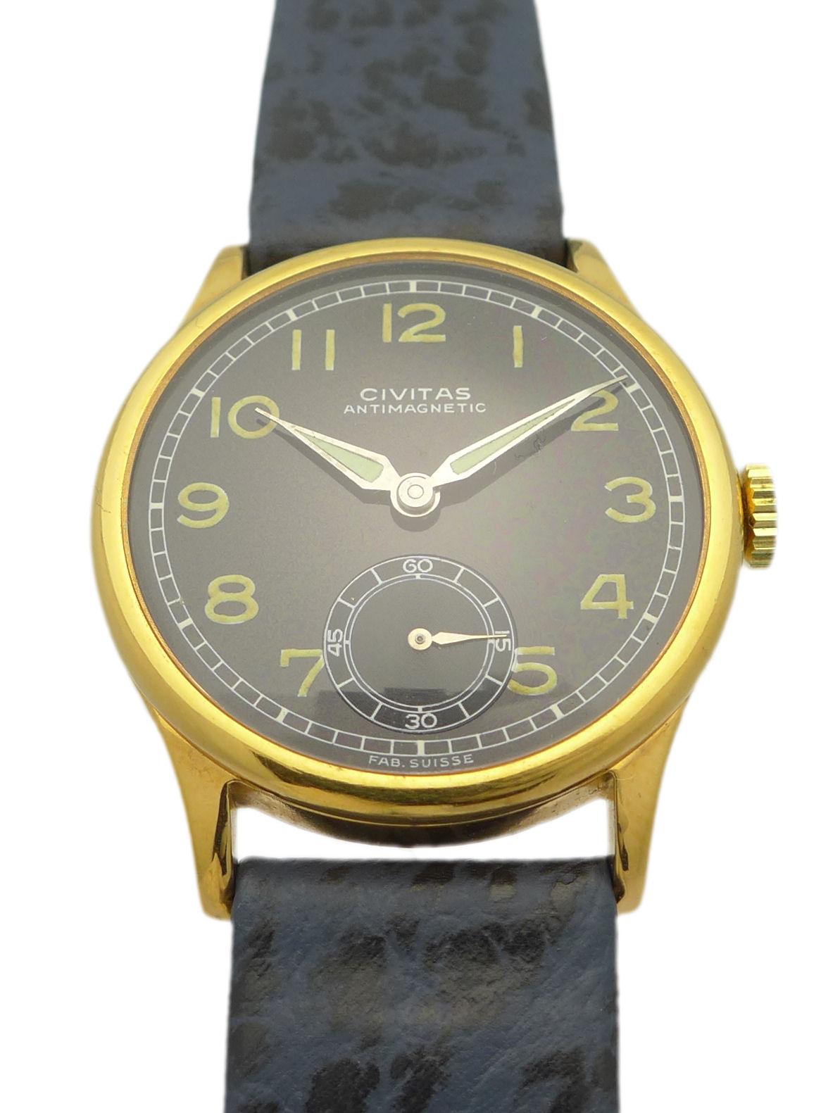 Civitas art deco design doubl herren armbanduhr ca 30 for Lampen 40er jahre