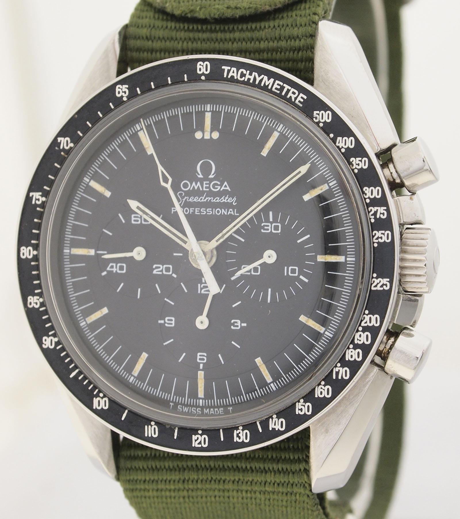 Omega Speedmaster Prof.v.1971 Cal 861-first watch worn on ...