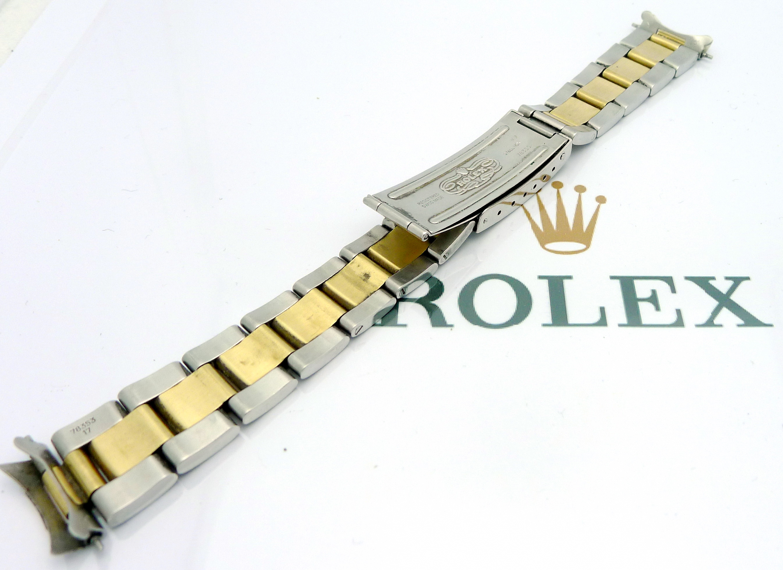 rolex oyster stahl gold armband ref 78350 bandanst ref. Black Bedroom Furniture Sets. Home Design Ideas