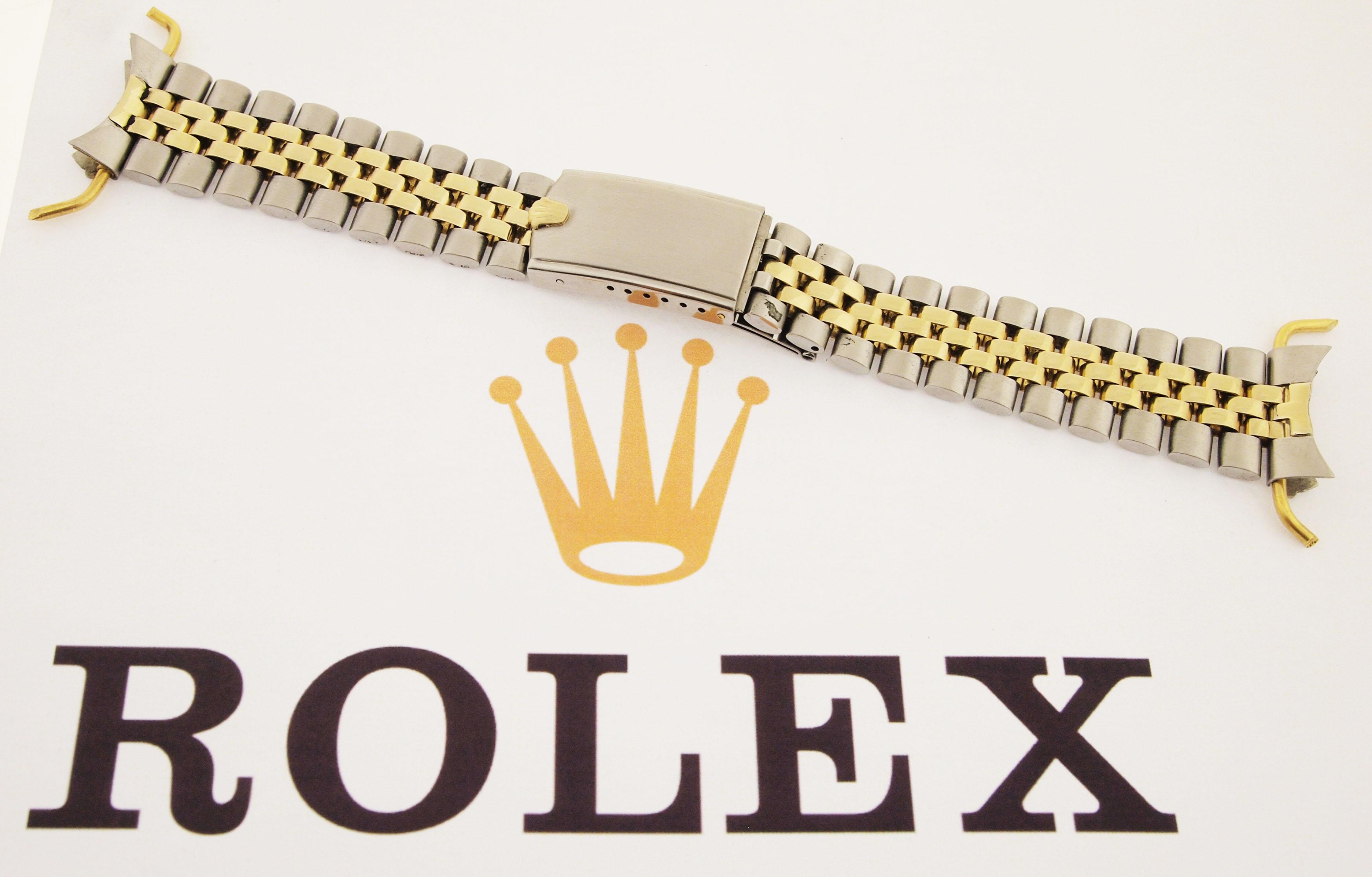 rolex usa jubilee armband in edelstahl 14ct gold. Black Bedroom Furniture Sets. Home Design Ideas