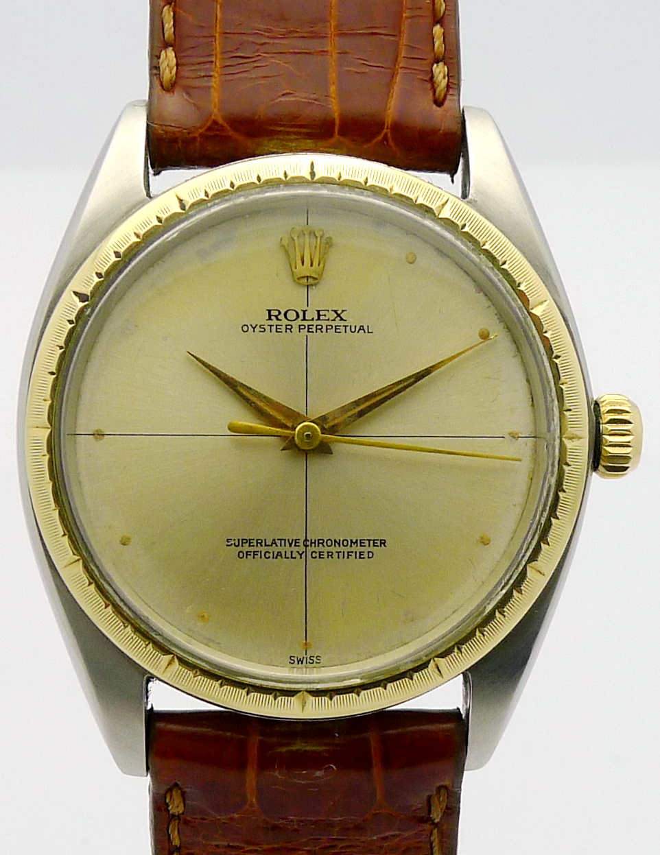 rolex oyster perpetual stahl gold herren automatik. Black Bedroom Furniture Sets. Home Design Ideas