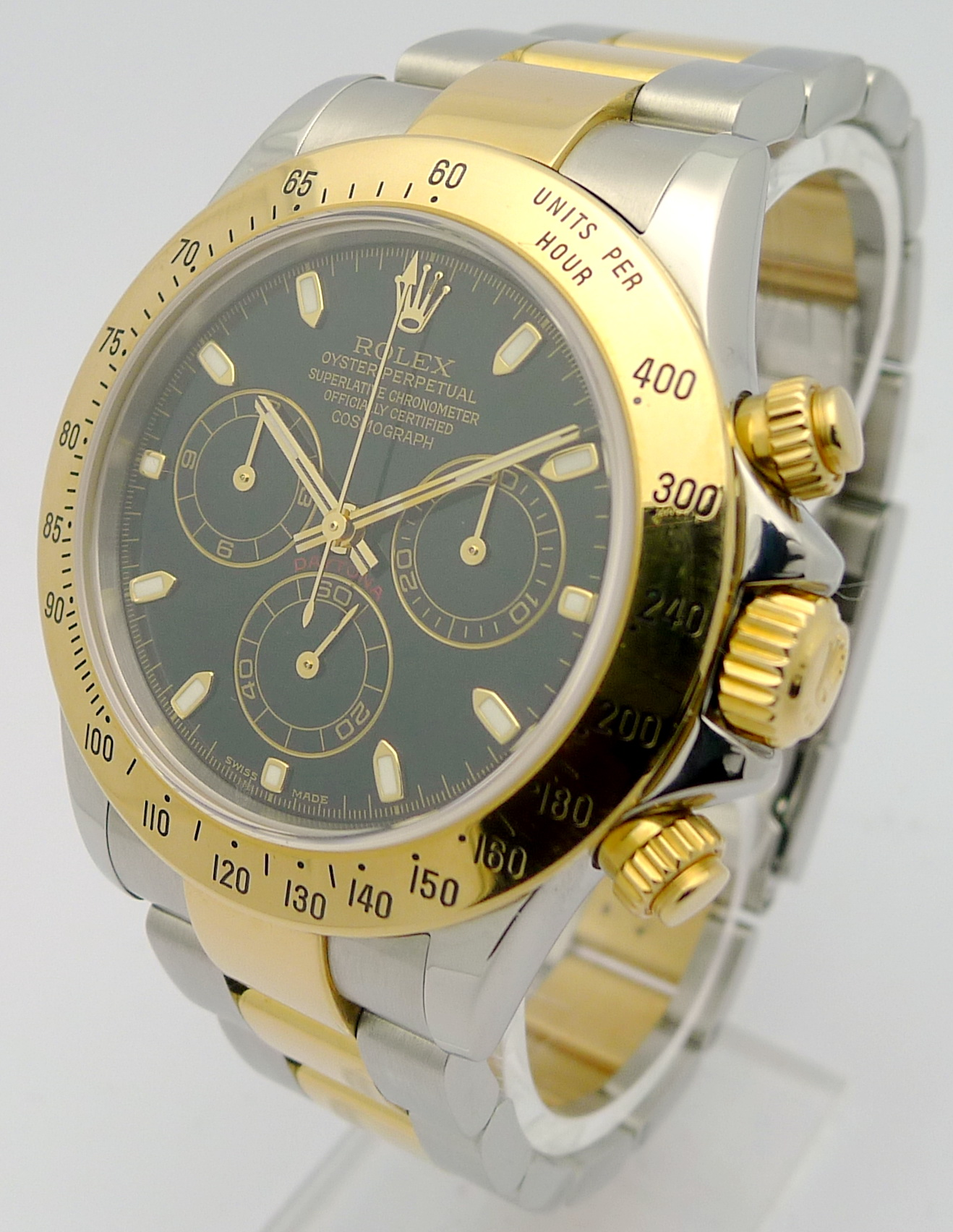 rolex daytona cosmograph stahl gold ref 116523 rolex. Black Bedroom Furniture Sets. Home Design Ideas