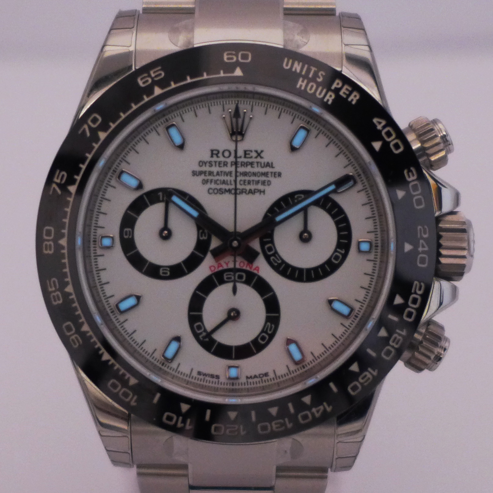 rolex daytona edelstahl neu ungetragen brd wempe papiere. Black Bedroom Furniture Sets. Home Design Ideas