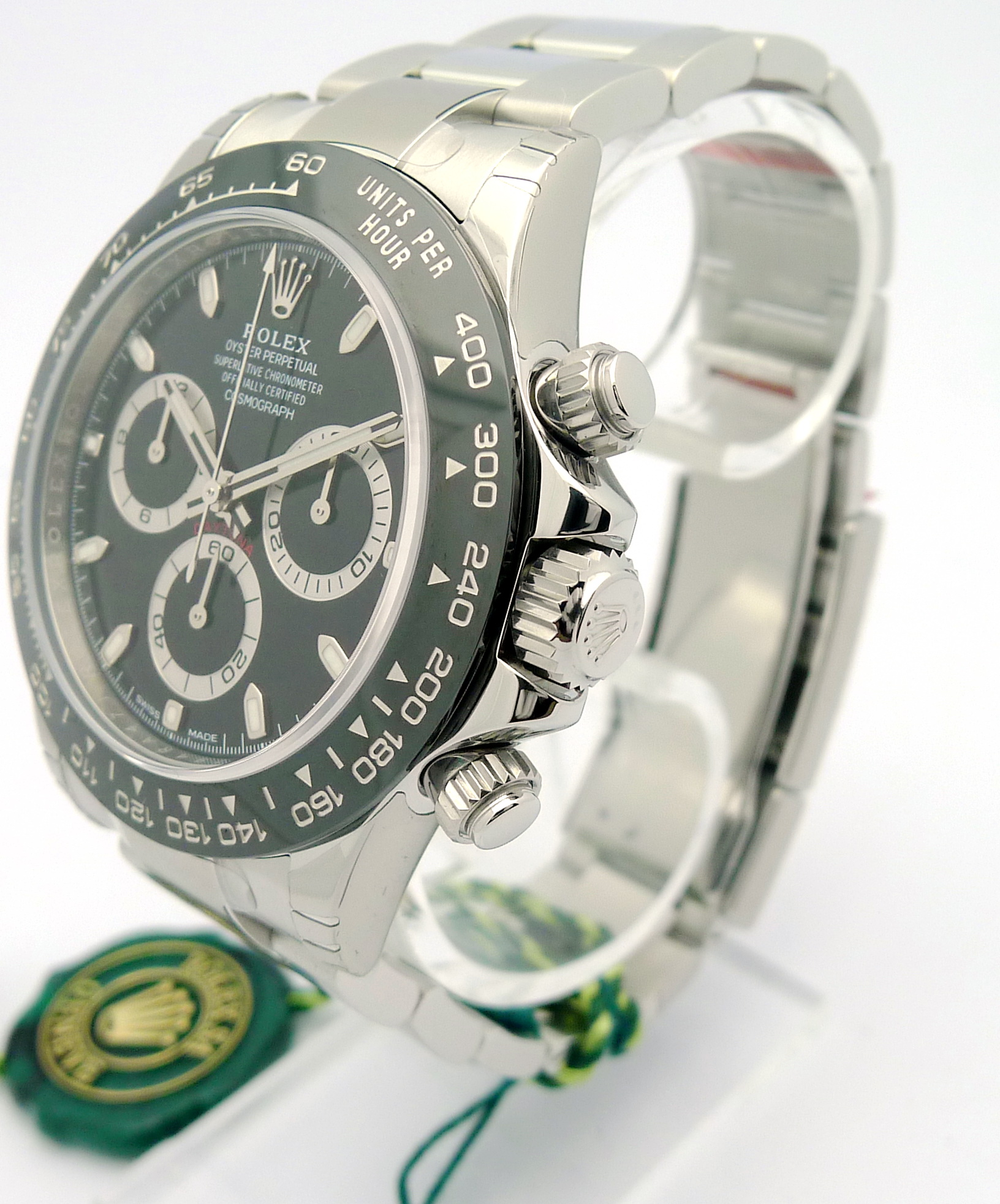 rolex daytona cosmograph edelstahl neu ungetragen ref. Black Bedroom Furniture Sets. Home Design Ideas
