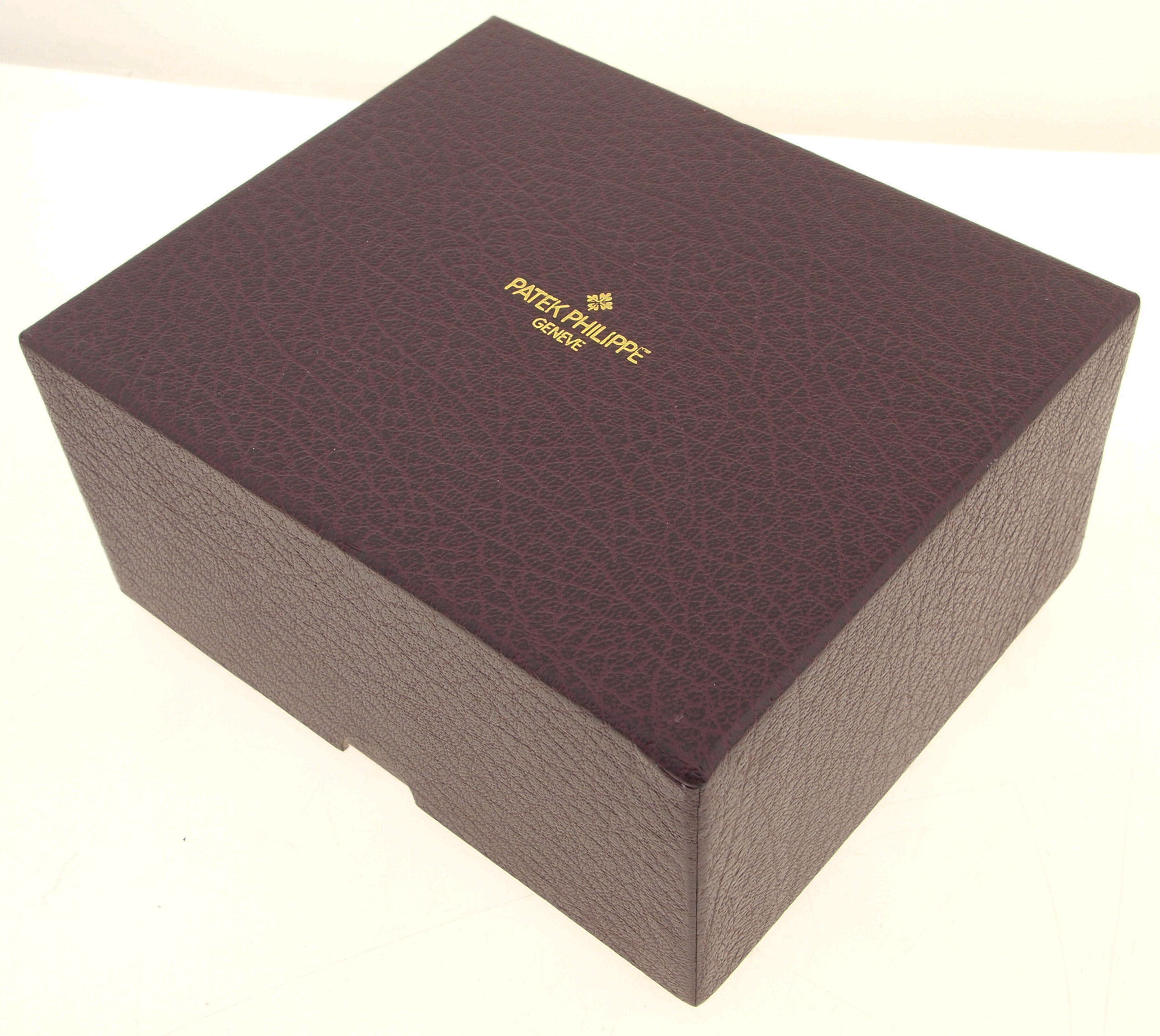 original patek philippe karton schachtel f r. Black Bedroom Furniture Sets. Home Design Ideas