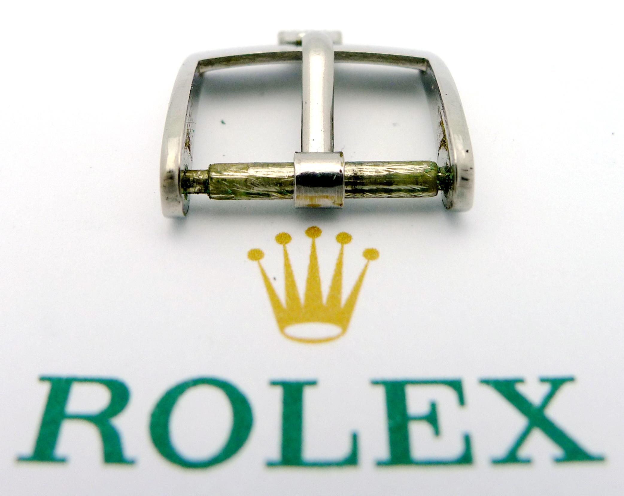 rolex stahl dornschlie e 14 mm stegbreite ca 70 80er. Black Bedroom Furniture Sets. Home Design Ideas