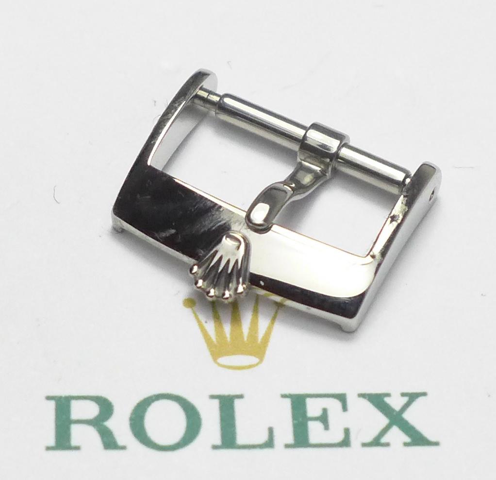 rolex stahl dornschlie e 16 mm stegbreite ca 80 90er jahre. Black Bedroom Furniture Sets. Home Design Ideas